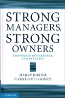 Strong Managers, Strong Owners book cover